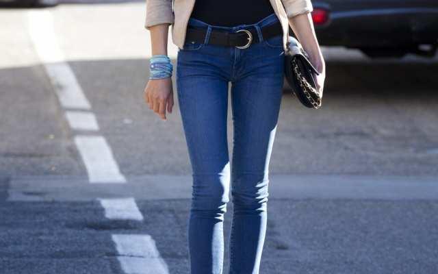Vilken skillnad är det på Slim-fit och Skinny jeans?