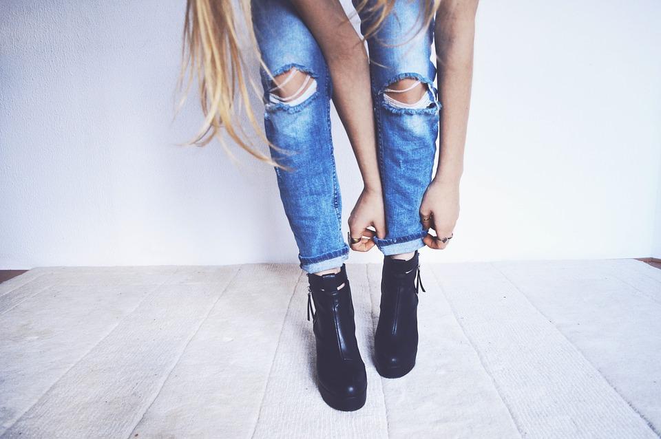 Vad är viktigt när du köper jeans? Det beror på hur ofta man har dem på sig.